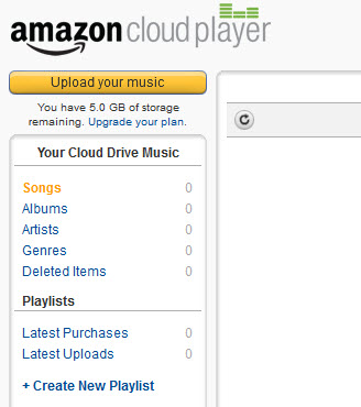 upload iTunes music to amazon cloud player