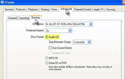 Convert iTunes M4P music to MP3 for PSP
